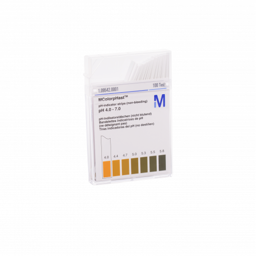 pH strips 4-7 - Box of 100
